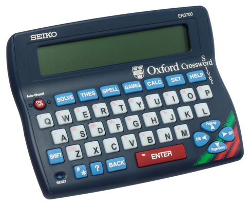 Superb Seiko Er3700 Desk Top Edition Oxford Blue Crossword Solver Download Free Architecture Designs Rallybritishbridgeorg
