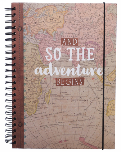 Photo Album Travel Journal Christmas Gift Idea A4 Our Adventure Scrapbook