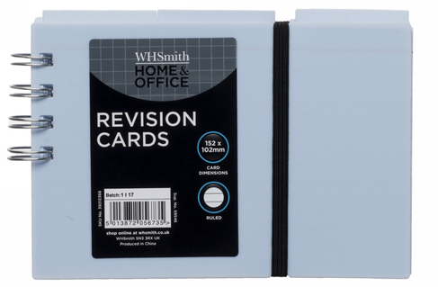 Whsmith Assorted Pastel Colours Spiral Bound Revision