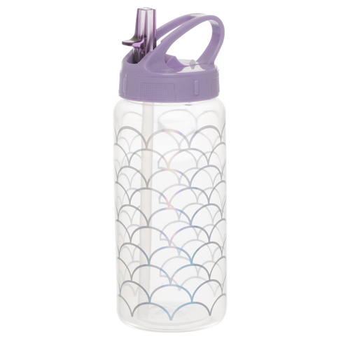 e7a21b3d87 WHSmith Sparkle Pop Mermaid's Tail 500ml Water Bottle