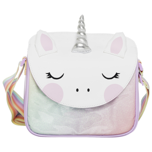 73e1998fd4 WHSmith Sparkle Pop Pastel Glitter Unicorn Lunch Bag