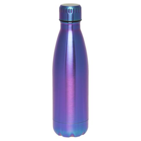 c9eead7346 WHSmith Metallic Purple & Blue Ombre 500ml Metal Water Bottle