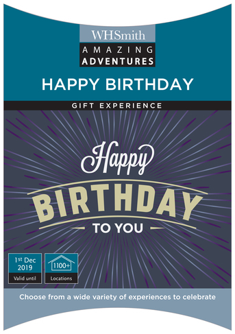 Recently Viewed Amazing Adventures Happy Birthday Your Choice Of Experience Gift Pack
