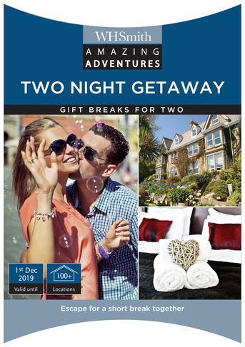 Amazing Adventures Two Night Getaway For Experience Gift Pack