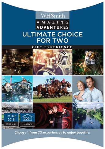 abdfeeb104f5 Recently Viewed. Amazing Adventures Ultimate Choice for Two Experience Gift  Pack