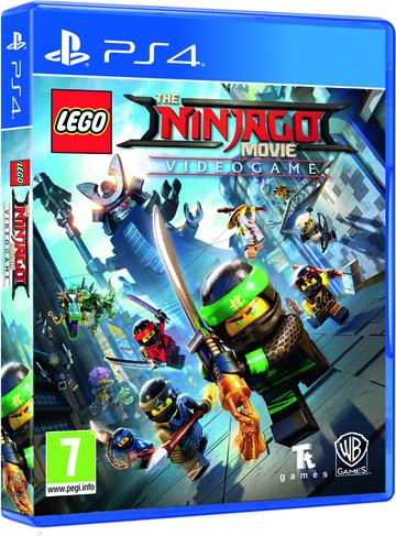 Sony PS4 LEGO NINJAGO Movie Video Game