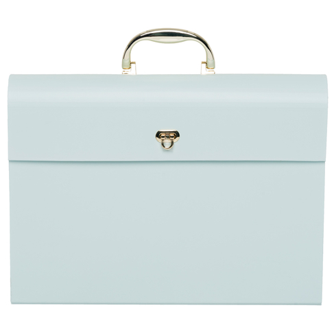 WHSmith Pastel Pink or Mint Green Home File