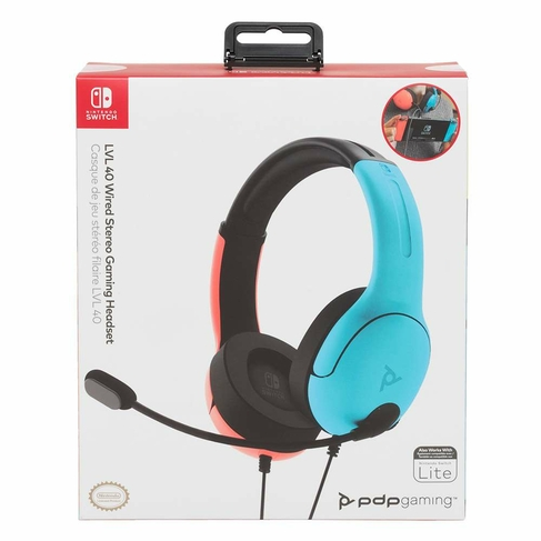 LVL40 Wired Stereo Headset for Switch