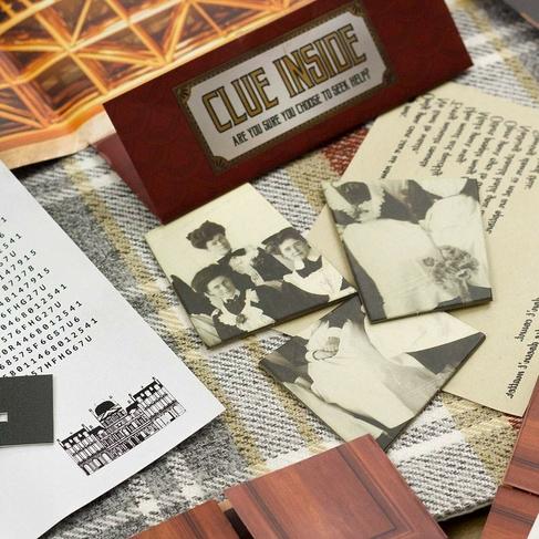 Professor Puzzle Escape From The Grand Hotel Escape Room Game Whsmith