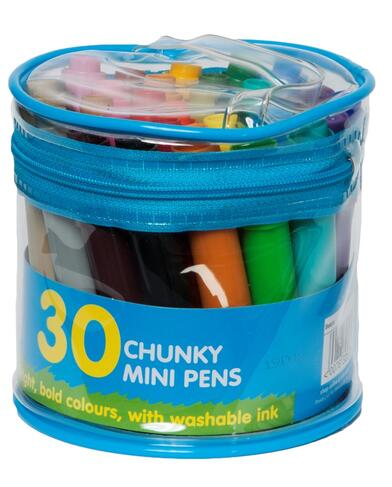 PACK OF 30 WHsmith Art colouring Pens