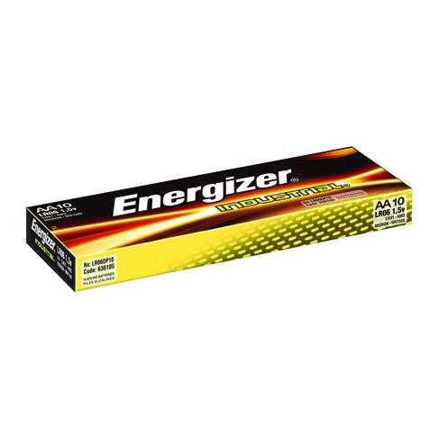 Energizer Industrial AA Batteries (10 Pack) 636105