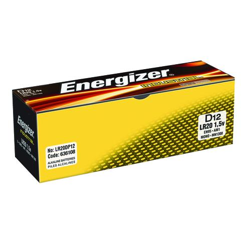 Energizer Size C Industrial Batteries (12 Pack) 636107
