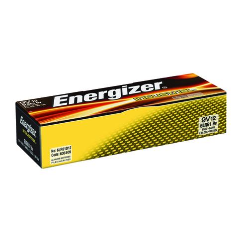 Energizer 9V Industrial Batteries (12 Pack) 636109