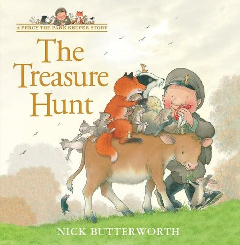 The Treasure Hunt A Percy The Park Keeper Story By Nick Butterworth Whsmith