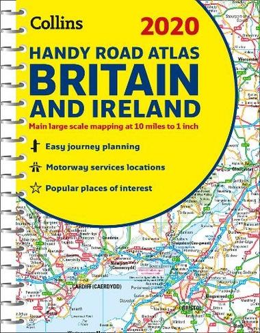 Collins Handy Road Atlas Ireland