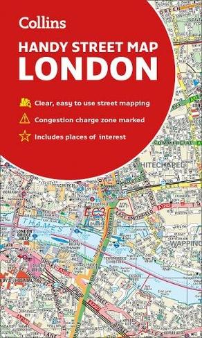 Street Map Of London Uk.Collins London Handy Street Map New Edition