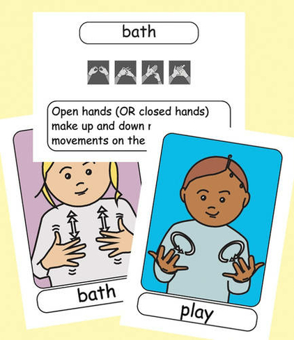 Let S Sign Bsl Flashcards Early Years And Baby Signs British Sign Language Let S Sign By Cath Smith Whsmith