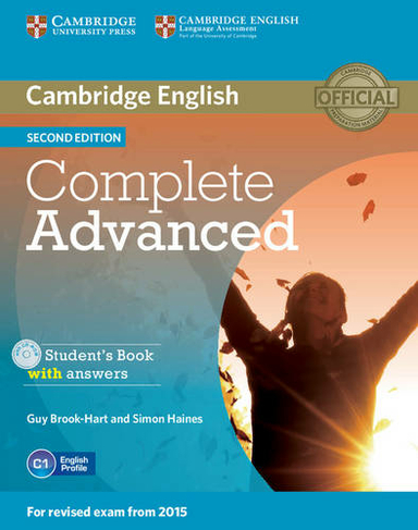 Complete Advanced Student S Book With Answers With Cd Rom Complete 2nd Revised Edition By Guy Brook Hart Whsmith