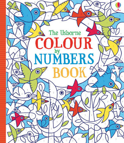 Colour By Numbers Whsmith