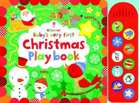 Christmas Play.Baby S Very First Touchy Feely Christmas Play Book