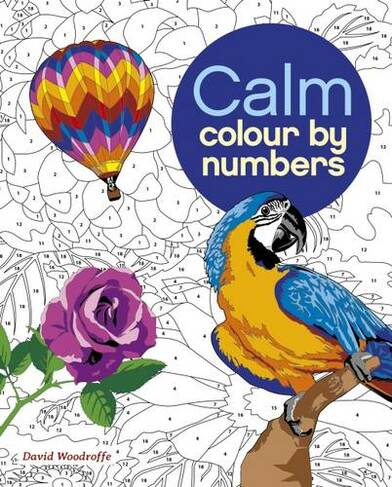 Calm Colour By Numbers Whsmith