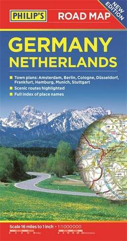 Philip\'s Germany and Netherlands Road Map