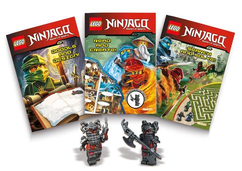 Lego Ninjago Masters of Spinjitzu Tin