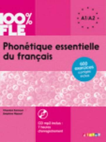 Phonetique Essentielle Du Francais Livre A1 A2 Cd Mp3