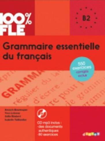 Grammaire Essentielle Du Francais Livre Cd B2